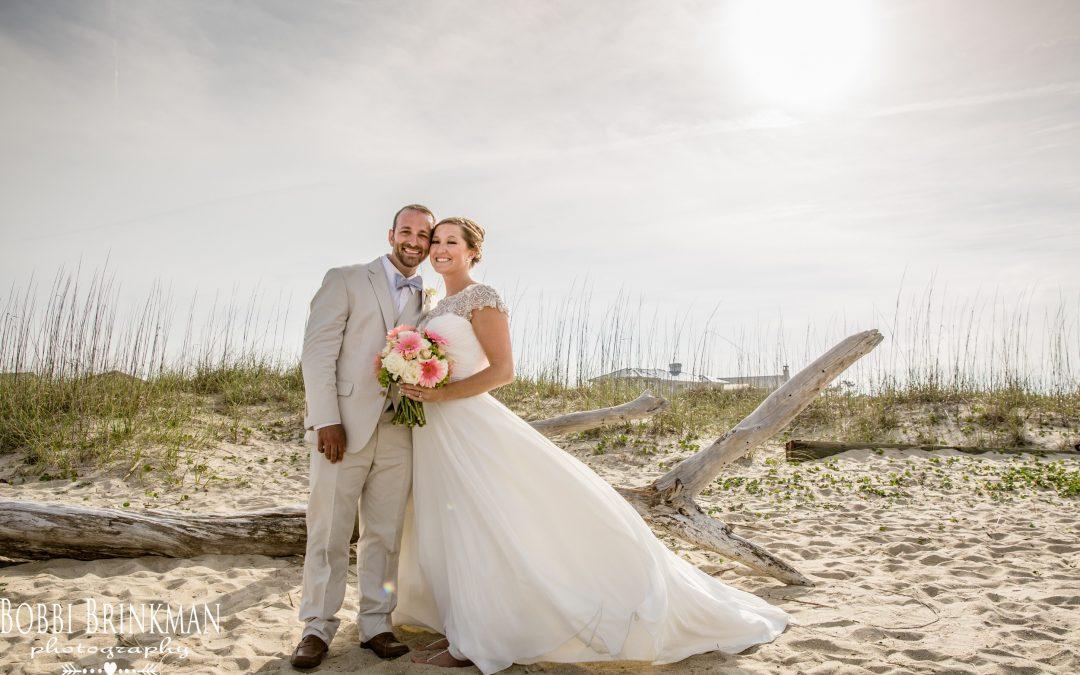 Jennifer + Tony ~ 4.30.16 ~ Tybee Island Wedding Chapel & Beach