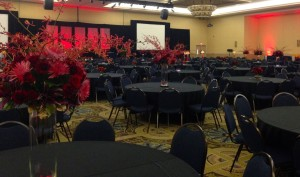 Each year we look forward to supporting the American Heart Association by  creating flowers/decor for the annual Heart Ball.