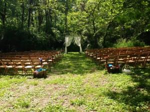 ceremony empty