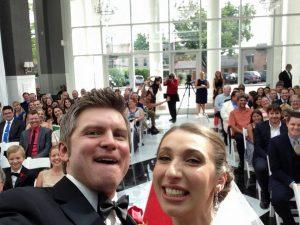 ceremony selfie
