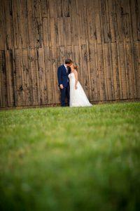 couple at barn