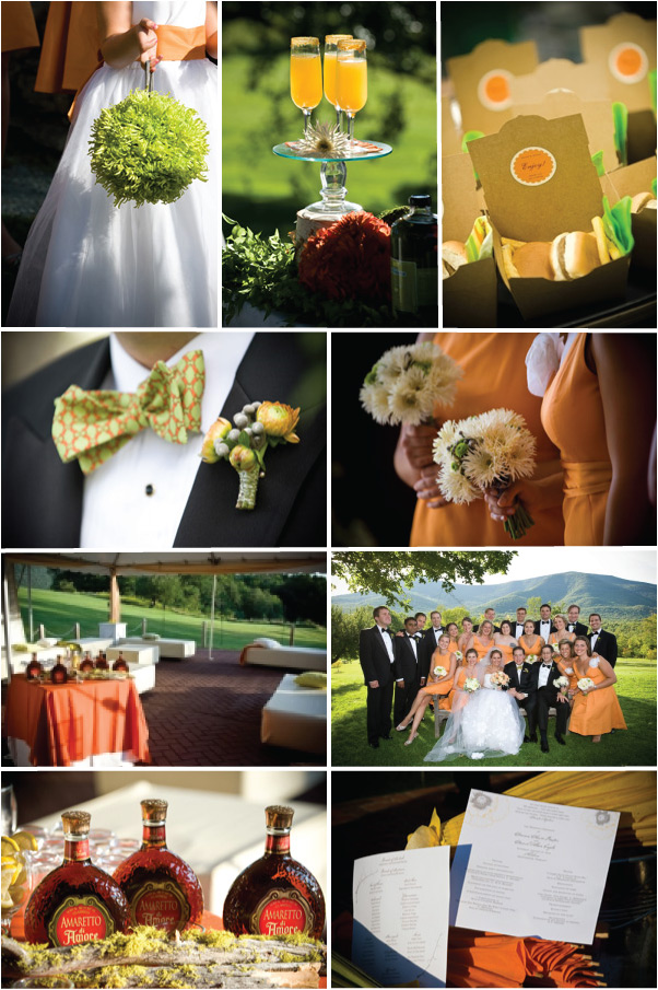 Hot Wedding Color Combinations for 2010